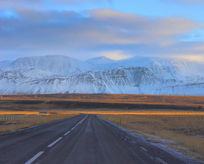 Empty Road To Mountains Free Public Domain Cc0 Image