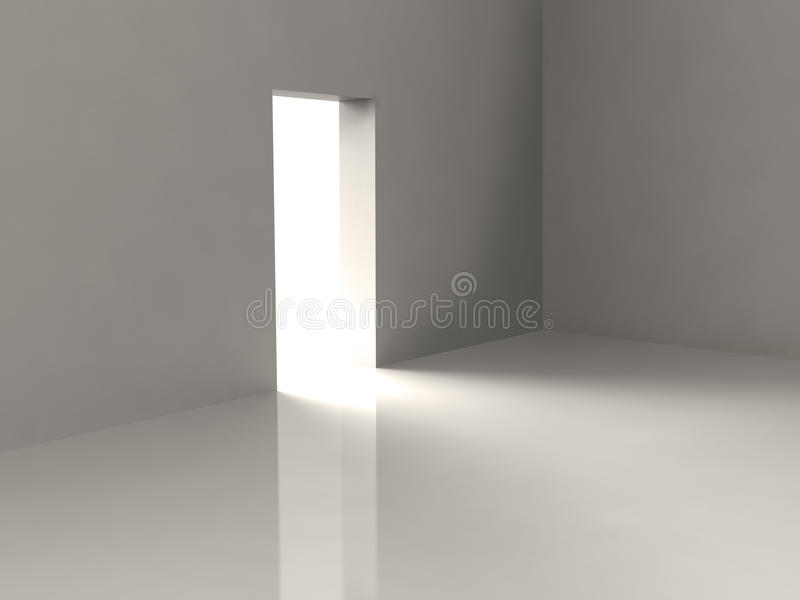 Download Empty Room stock illustration. Image of nirvana, light - 13483510