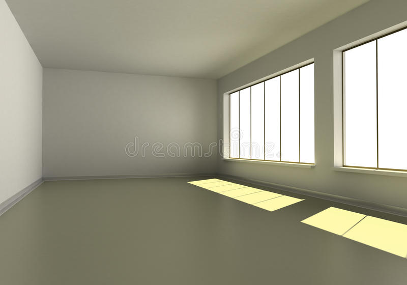 Download Empty room stock illustration. Illustration of wall, home - 14861909