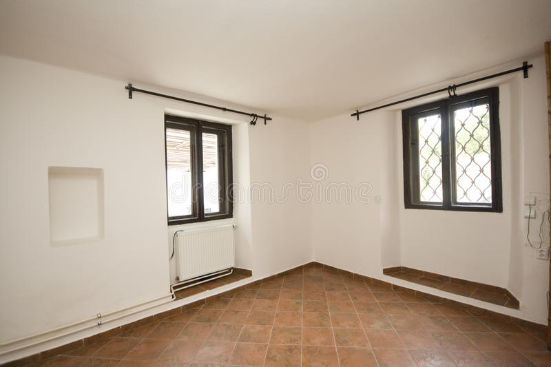 Download Empty room stock photo. Image of white, flat, parquetry - 23661094
