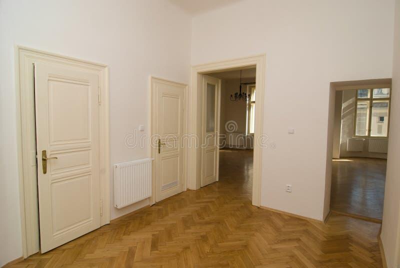 Download Empty room stock photo. Image of interior, floor, white - 24319390