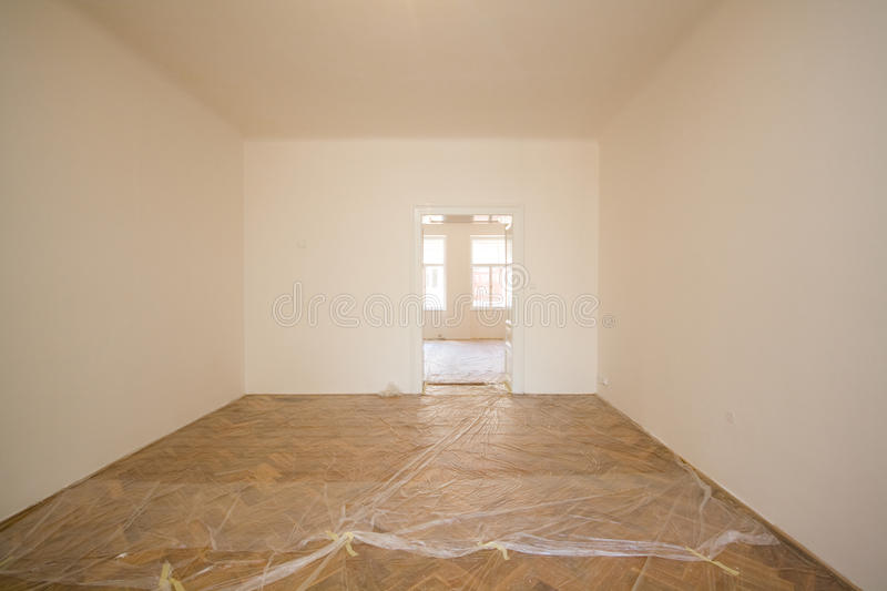 Download Empty room stock image. Image of parquetry, white, architecture - 24319527