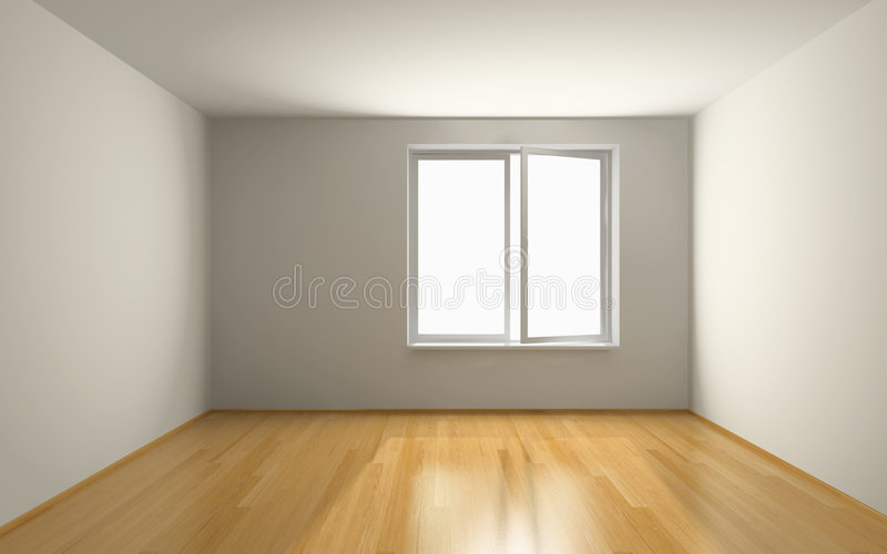 Download Empty room stock illustration. Image of interior, clean - 5381933