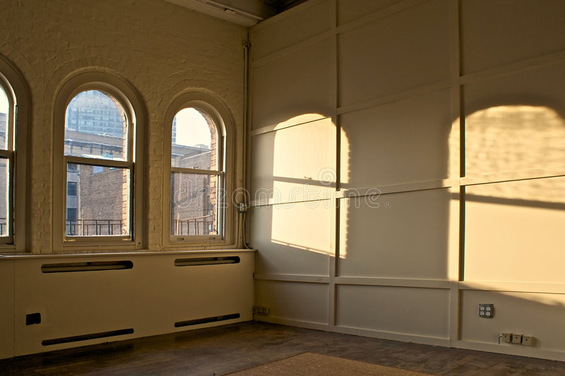 Download Empty room stock image. Image of arched, empty, large - 7960151