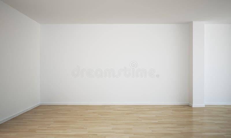 Empty room. 3d rendering of an empty room