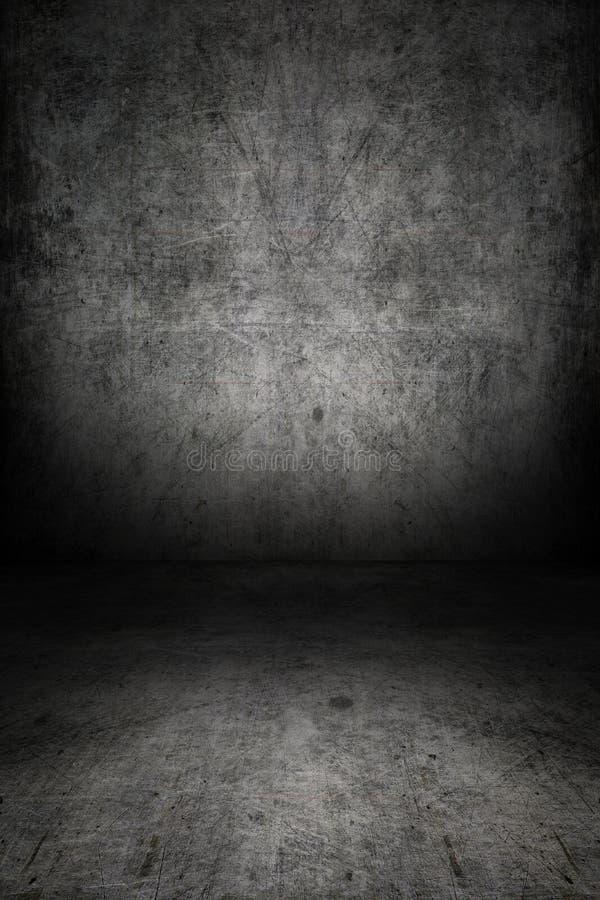 Empty room royalty free illustration