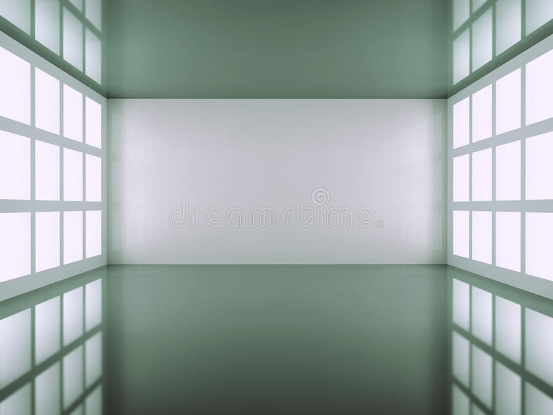 Download Empty room stock illustration. Image of black, comfort - 9675760