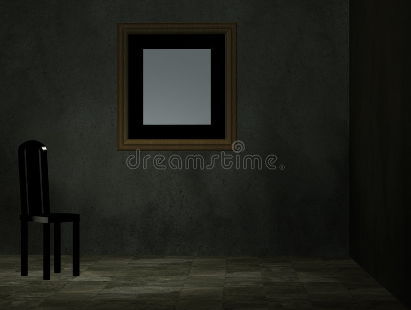Download An Empty Room With Chair Stock Photos - Image: 6961523