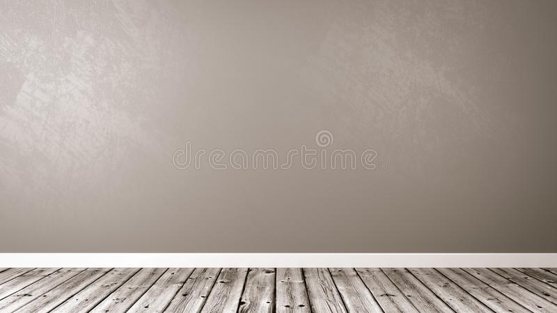 Empty Room with Copy Space royalty free illustration