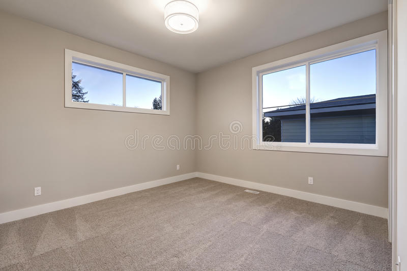 empty room interior with grey walls paint color stock photo image