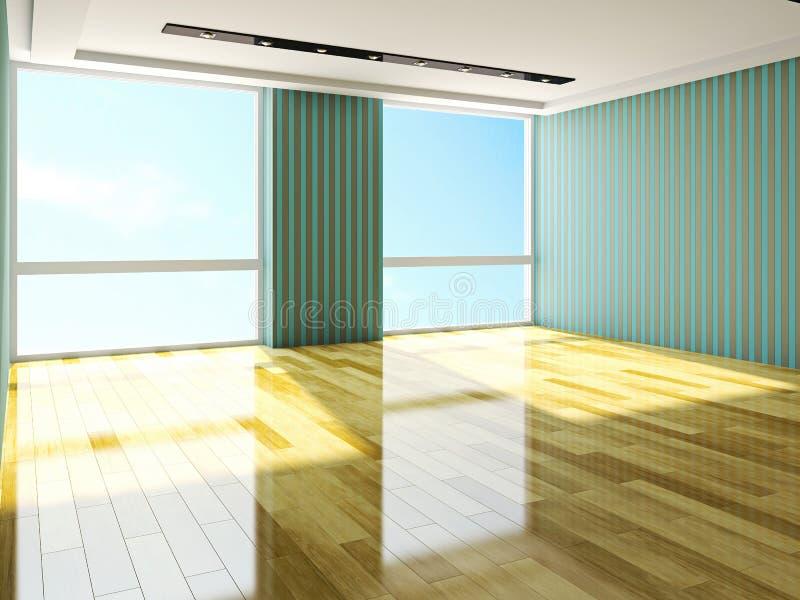 Download Empty room stock illustration. Illustration of gallery - 37065919