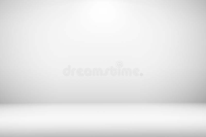 Empty room with light gradient blank interior for creative project copy space backdrop or background design. Empty room with light gradient blank interior for stock images