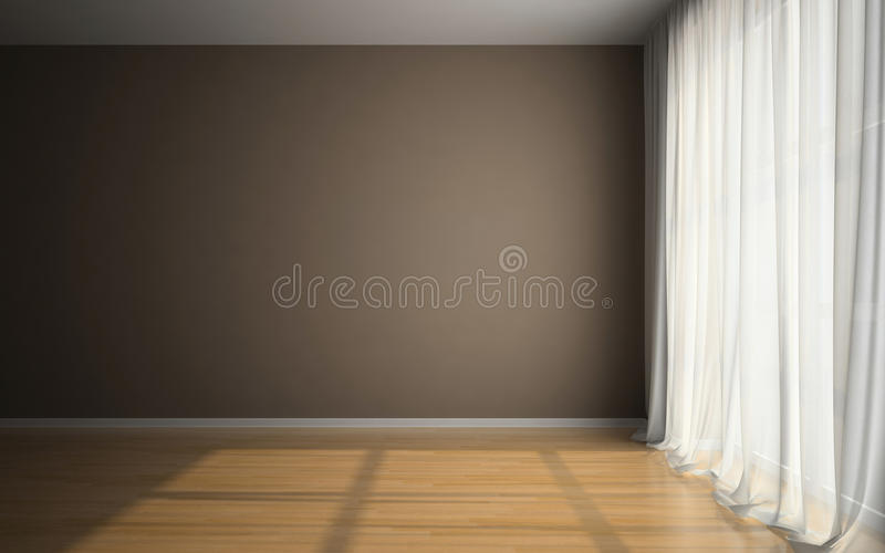 Download Empty Room In Waiting For Tenants Stock Illustration - Illustration: 27014600