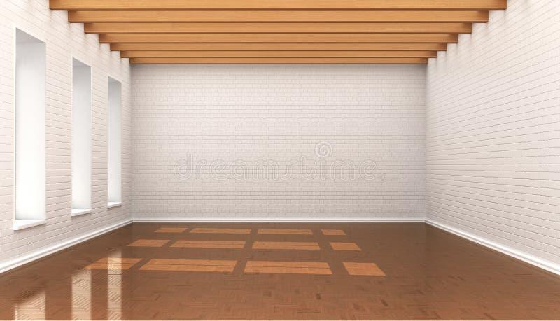 Empty room, stock illustration
