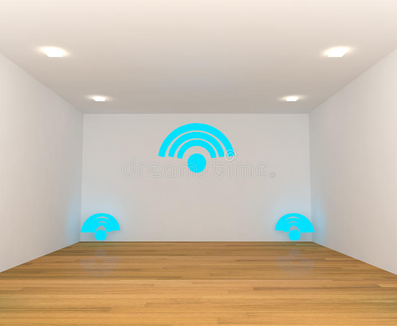 Empty room with Wifi