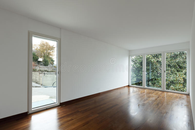 Download Empty Room With Windows Stock Images - Image: 22075154