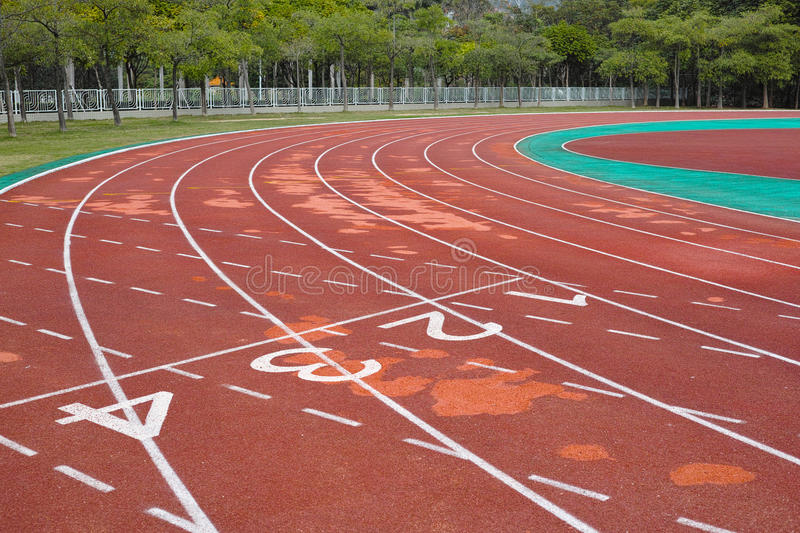 Download Empty running track stock photo. Image of running, competition - 28931260