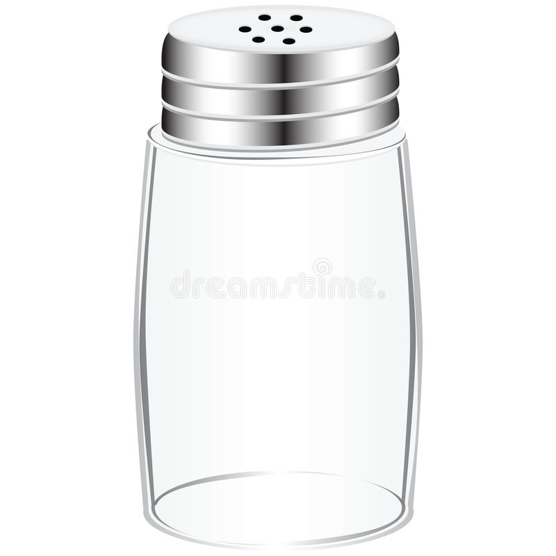 Free Empty Salt Shaker Royalty Free Stock Photos - 25234748