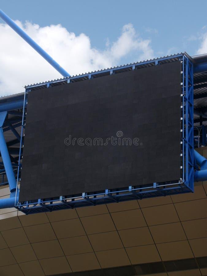 Empty scoreboard