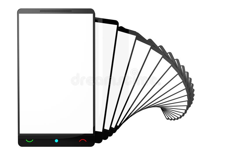 Download Empty Screens stock illustration. Image of empty, technology - 25956700