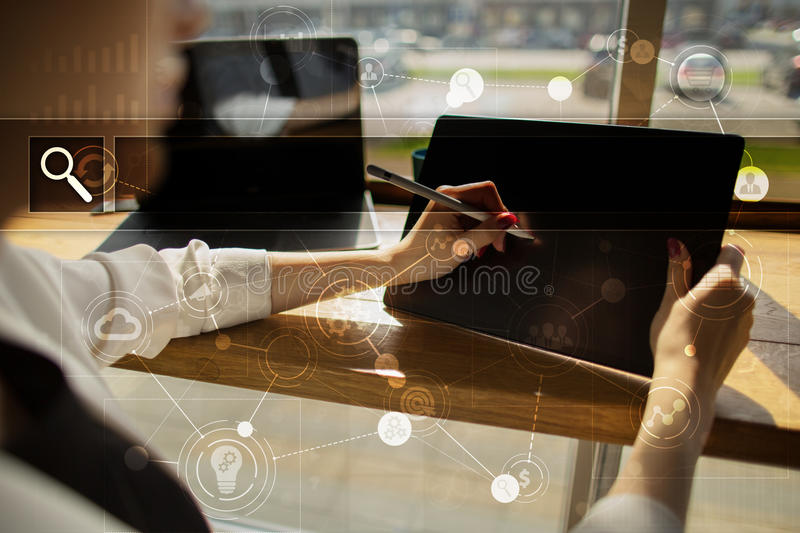 Empty Search bar. Web site, URL. Business, internet and technology concept. stock image