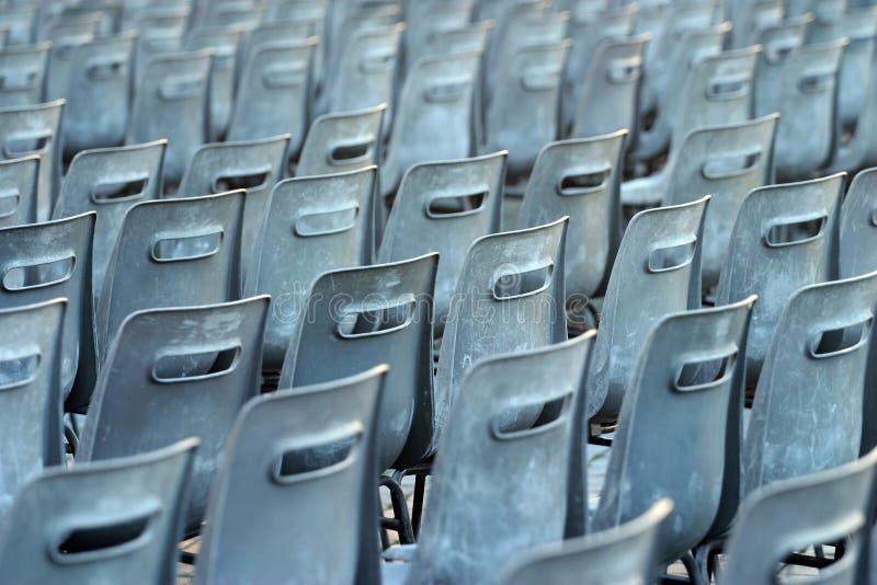 empty seats στοκ εικόνες