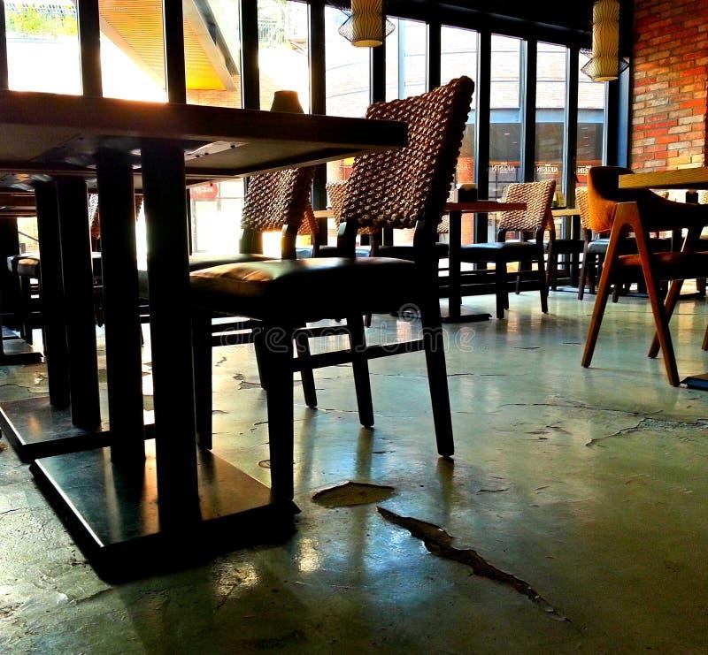 Empty seats stock image