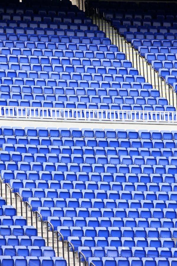 Empty seats in stadium royalty free stock photos