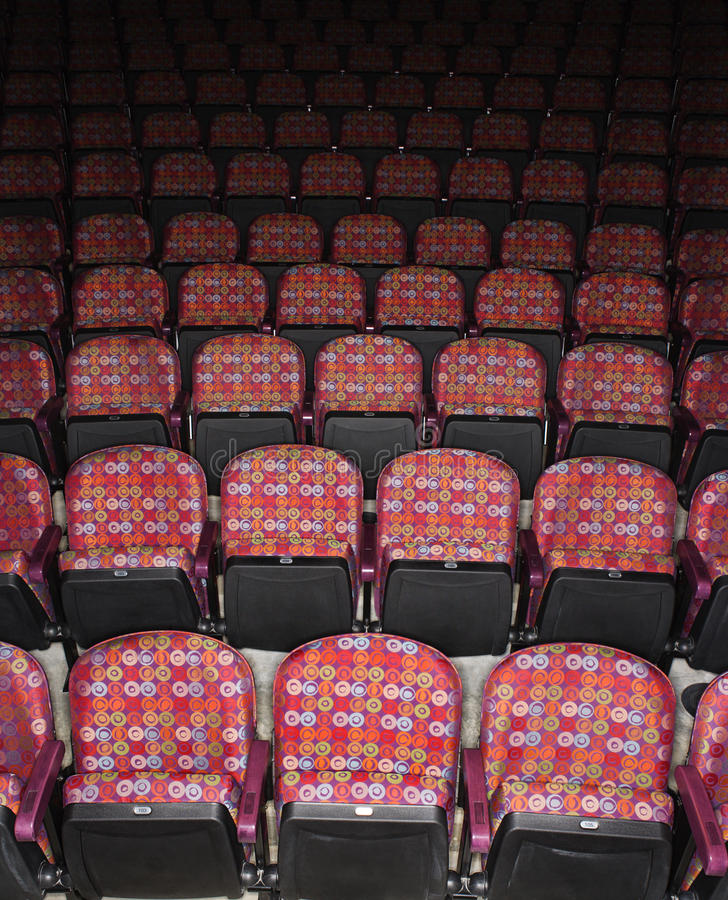 Download Empty Seats in Theater stock image. Image of performing - 12755213