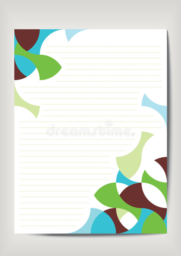 Download Empty sheet paper stock vector. Illustration of pattern - 22963848