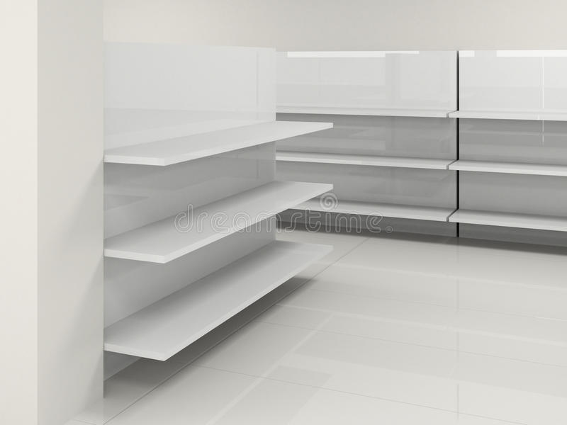 Empty Shelf Royalty Free Stock Photos Image 13494948