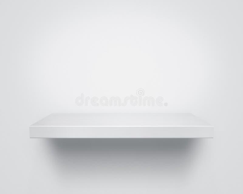 Empty shelf stock image