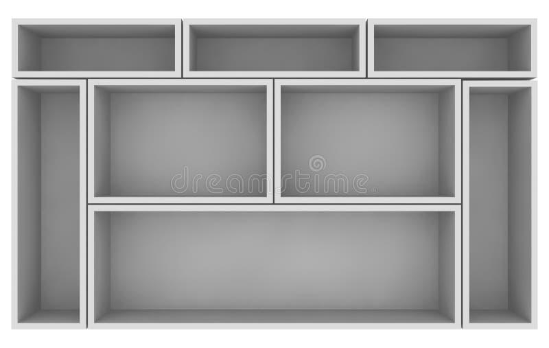 Empty Shelves Royalty Free Stock Photography