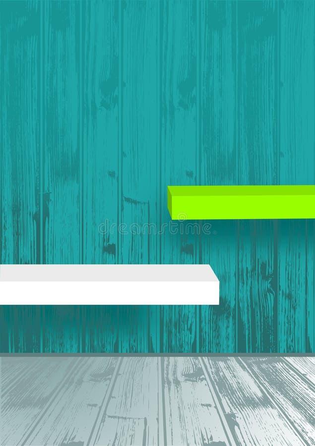 Download Empty shelves stock vector. Illustration of clear, design - 27547532
