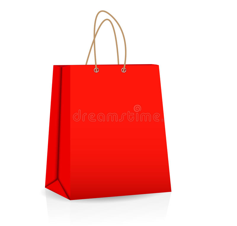 Empty Shopping Bag For Advertising And Branding Royalty Free Stock Photos