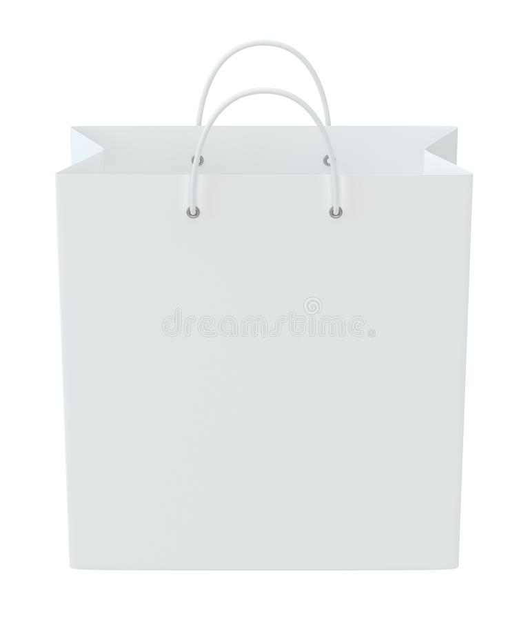 Empty Shopping Bag For Advertising And Branding  3d