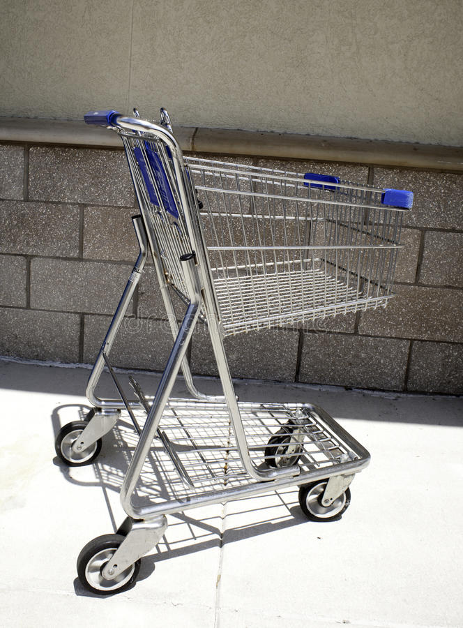 Download Empty shopping cart stock image. Image of shop, empty - 21378611