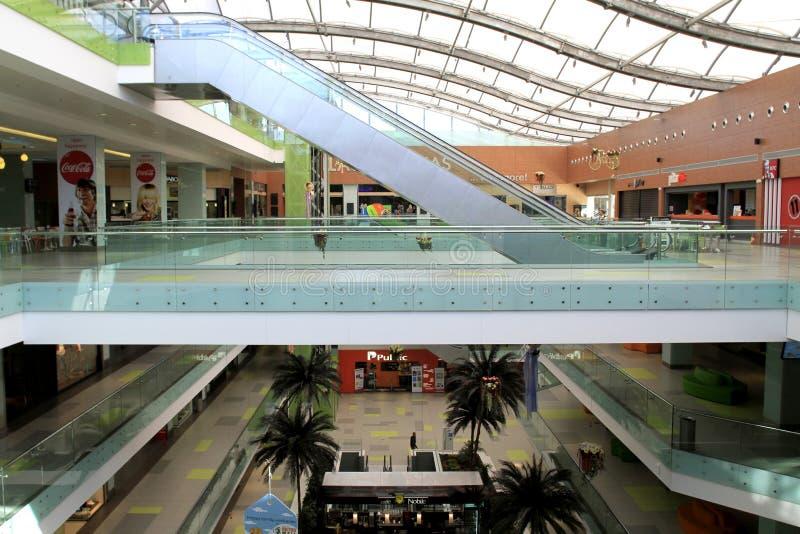 Empty shopping mall - Athens royalty free stock photo