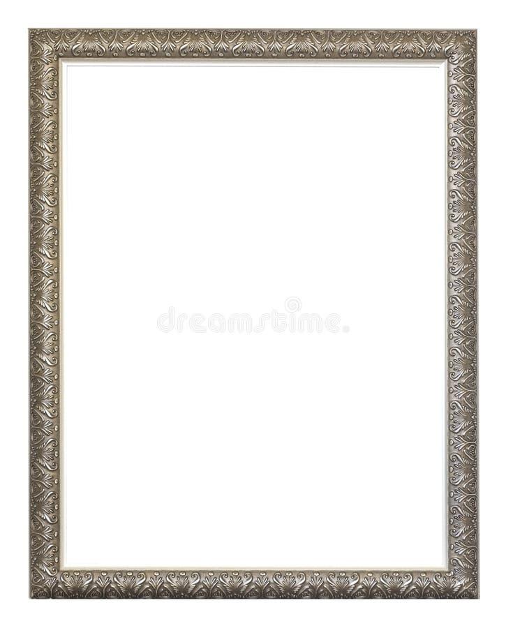 Download Empty silver ornate frame stock illustration. Illustration of texture - 459672