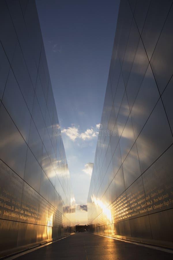Free Empty Sky: Jersey City 9/11 Memorial At Sunset, New Jersey, USA Royalty Free Stock Photos - 51983098
