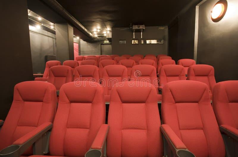 Download Empty Small Cinema Auditorium Stock Photography - Image: 7090352