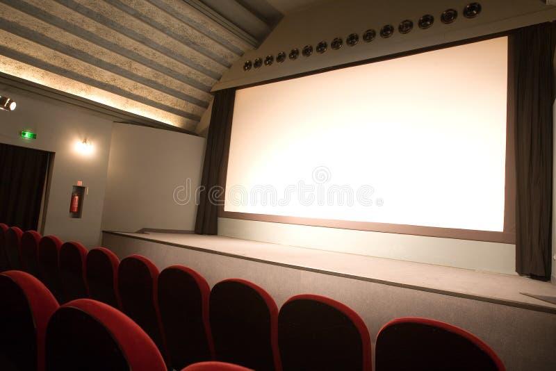 Empty Small Cinema Auditorium Royalty Free Stock Photo