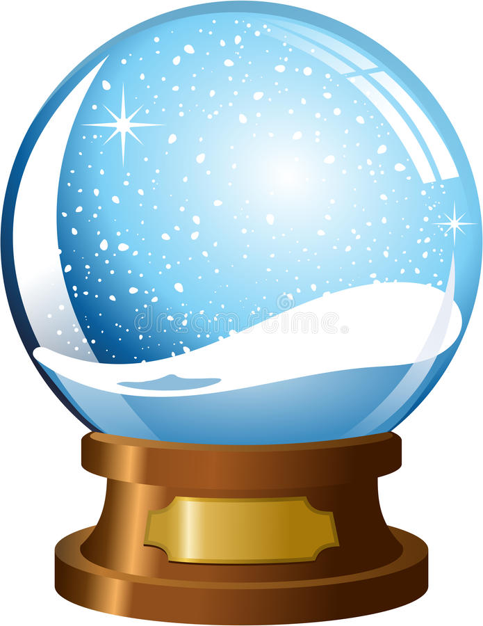 Free Empty Snowglobe Royalty Free Stock Images - 35697979