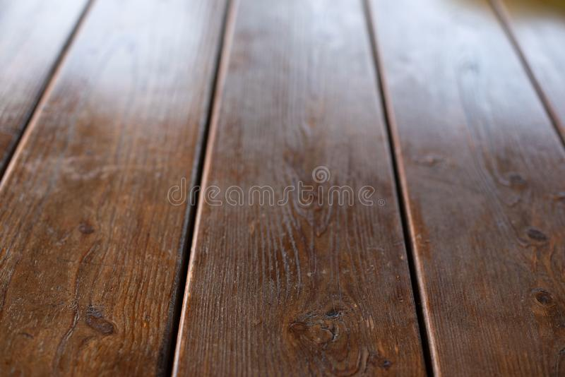 Empty space on the desktop Old Natural Wooden Shabby Background. Empty space on the desktop. Old Natural Wooden Shabby Background royalty free stock photography