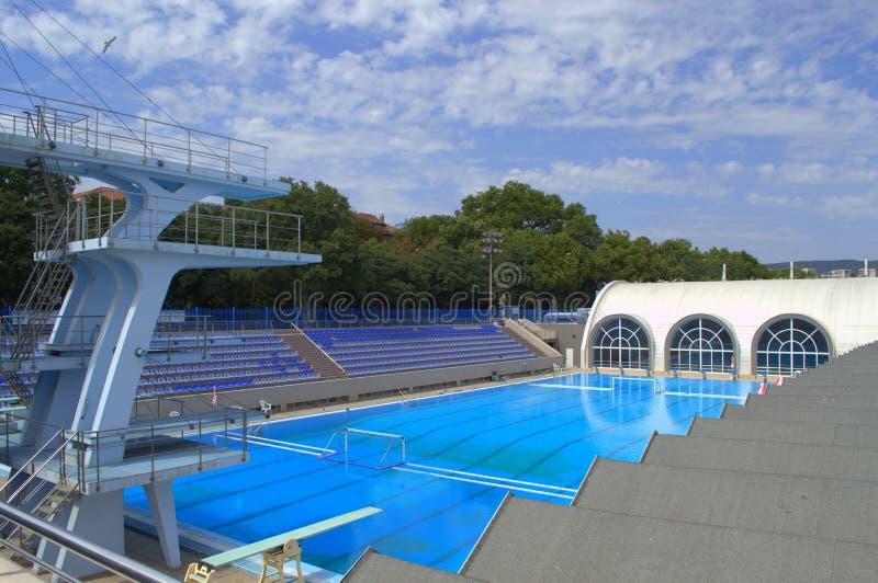 Empty Sport Swimming Complex Stock Photo Image 58513812