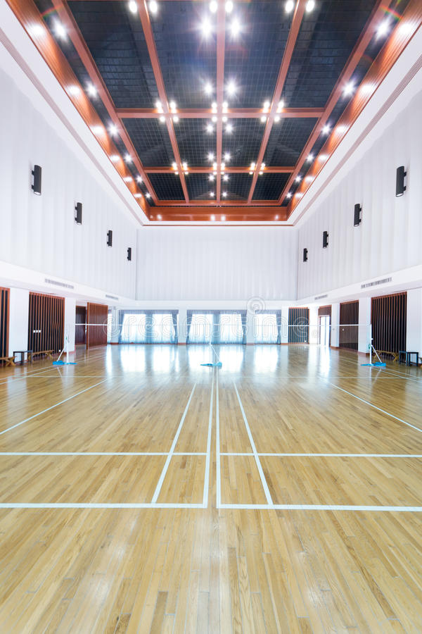 Download Empty sports court stock photo. Image of empty, dividing - 19837078
