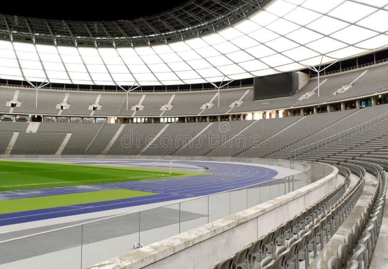 Empty Stadium stock photo