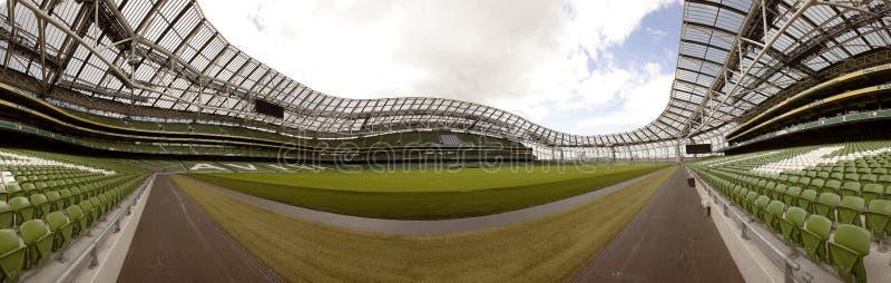 Empty stadium Aviva stock photos