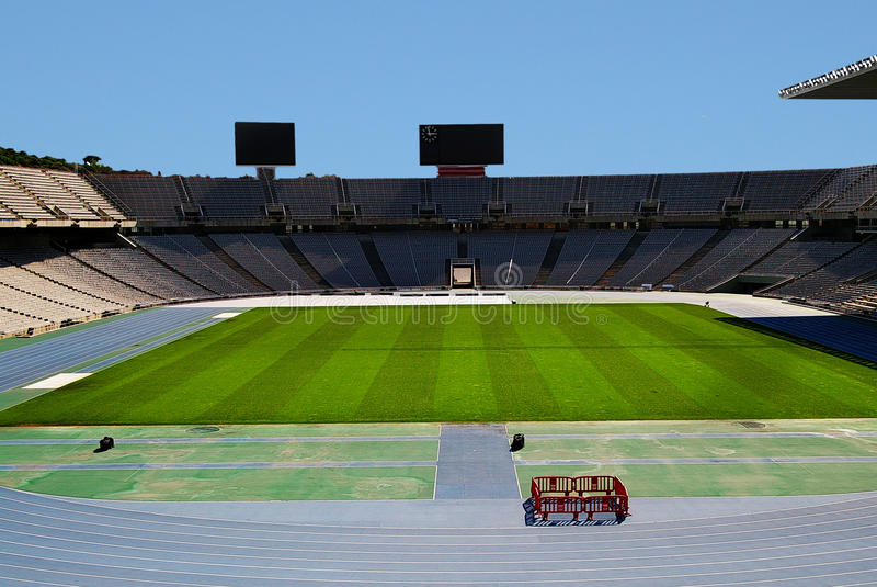 Download Empty stadium stock image. Image of blank, empty, green - 30673587