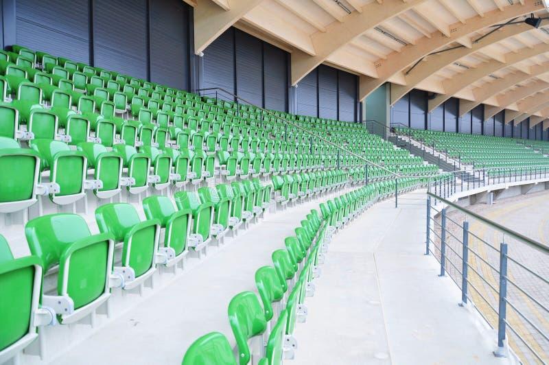 Empty stadium seating royalty free stock images